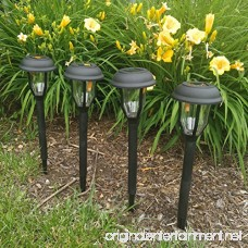 Sogrand Solar Garden Lights Outdoor Stakes Waterproof Bright Landscape Home Decor Yard Lamp For Outside Walkway Patio 4Pack - B079CR2JS4