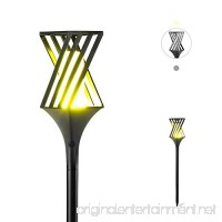 Solar Landscape Lights Outdoor Decorative Torch Lights Waterproof Garden Patio Lights Pathway Lawn Backyard Lights Outdoor Wireless(Pack of 1) - B07D7C1SWN