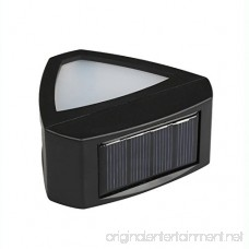 ALEKO SLSC0106 Solar Powered LED Decorative Light Lamp for Outdoor Garden Fence Pathway Stairs Wall Mounted Light Lamp Step Light - B014JZ5O4I