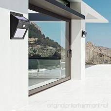 Contixo Solar Powered 20-LED Night Motion Sensor Outdoor Light Waterproof Driveway Door Patio wireless 4 pack - Best Gift - B073VB79XS