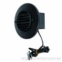 LED Round Deck Light  Black - B004T4XQJA