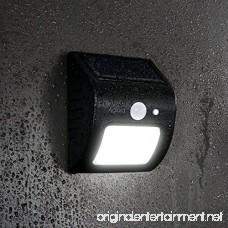 Outdoor Solar Lights Aglaia IP64 Wireless Waterproof Motion Sensor Lamp with Wide Lighting Area Easy Install Waterproof Flood Light Security Lights Outdoor Lights for Front Door Back Yard Garage - B01MT9Y940