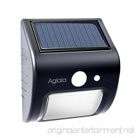 Outdoor Solar Lights  Aglaia IP64 Wireless Waterproof Motion Sensor Lamp  with Wide Lighting Area Easy Install Waterproof Flood Light Security Lights Outdoor Lights for Front Door Back Yard Garage - B01MT9Y940
