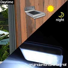 SMADZ SL41A Security Solar Motion Light 16 LEDs for Outdoor Garden Fence Wall Step Waterproof (Pack of 4) - B01EY1ZD5M