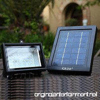 Solar Floodlight; 30 LED Outdoor Security Light; Solar Flood Light Landscape lamp for Lawn Garden Road Hotel Pool Pond etc. - B00LBX4LNW