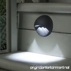 Sterno Home LED Cast Aluminum Deck Light Black - B005NGH0N6