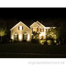 B-right 4 X 3W Outdoor Landscape Spotlights 12V Waterproof Garden Pathway Lights Warm White with UL Plug - B07F1M8SY2
