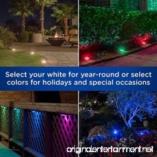 Enbrighten Seasons LED Landscape Lights (50ft.) Selectable White & Color Changing 6 Lifetime Pucks Wireless Remote Outdoor Commercial Grade Weatherproof Spotlight Garden Path Light 41012 - B07C34T1J5