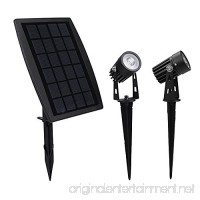 findyouled Solar Spotlight  Waterproof Outdoor Solar Lights Landscape Lighting Wall Light Auto On/Off for Yard Garden Driveway Pathway Pool Tree Patio - B01MRHN30A