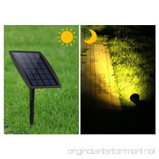 LED Landscape Solar Spot lights Waterproof Outdoor Solar Spotlight for Backyard Driveway Patio Gardens Lawn Dusk to Dawn Auto On Off (6000K-Daylight) - B07784JXKP