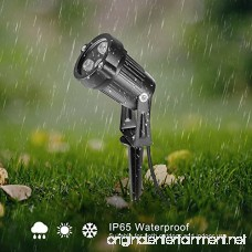 OurLeeme Lawn Flood Light Stake 2-in-1 Waterproof Outdoor Remote controlle Landscape Lighting Spotlight Wall Light for Yard Garden Driveway Pathway Pool - B078SNW7M1