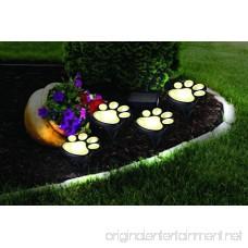 DSstyles LED Funny Bear Paw Shape Solar Energy Power Light Lawn Lamp Home Yard Garden Decoration Unique - B07DJ2ZTSJ