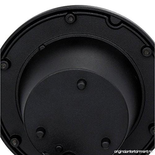 Hampton Bay HD38725 Low Voltage LED Black Well Light