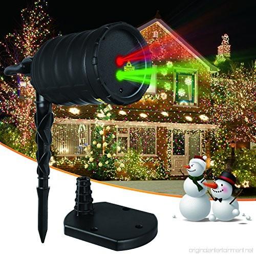 IMAXPLUS Christmas Laser Lights Outdoor Projector Lights
