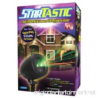 StarTastic Holiday Light Show ACTION Laser Light Projector As Seen On TV - B01DUUZQBE