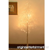 Strong Camel 8FT 132L LED Birch Light Tree W/ Icicle Twinkling (Warm White) - B017YJYQI6