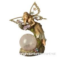 Moonrays 91352 Solar Powered Garden Fairy with Glowing Globe - B0074J2BYI
