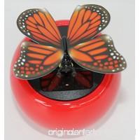 Solar Dancing Butterfly Moves Wings - B00LT94NFO