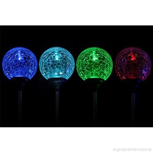 Solar Globe Lights Oxyled Crystal Glass Led Light Solar