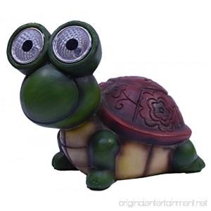 Solar Powered Garden Turtle Figurine - B076QJVKJ7