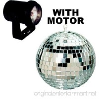 "Cali Lite Disco Lighting Package (Light  6"" silver mirror ball  Color lenses and motor) - B006Z09B6S"