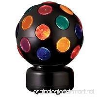 Catalina Lighting 17793-003 Multi-Colored Spinning Disco Ball 8 x 8 x 11 Black - B01DWT4Q32