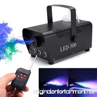 DSstyles 64LED Sound Sensor Airship Stage Lamp Colourful Laser Projection Light for Club DJ Show Party Ballroom Bands - B07FSC1H2N