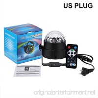 HKBAYI 7 Colors DJ Disco Ball Lumiere 3W Sound Activated Laser Projector RGB Stage Lighting effect Lamp Christmas KTV Music Party Light - B07D2B3ZQ4