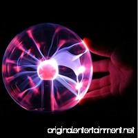 "Krismile 3"" USB Plasma Ball Sphere Light Magic Crystal And holiday Lamp Magic Plasma Light Electric Globe Static Ball Mood Lamp Party Lighting Christmas gift - B019OHSEF2"