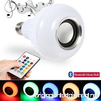 LED Light Bluetooth Music Bulb E27 Wireless 12W LED RGB Changing Lamp for Party  Home - B07917YST7