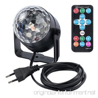 Neoteck Disco Lights Disco Ball 3W RGB LED Strobe Light Karrong Music Activated Party Glitter Ball Lights - B07DYLMQQ9