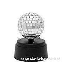 New 5 inch Mechanical Mirror Ball Party Dance Night Club Music Deluxe Rainbow Disco Light QUICK SHOP Plastic Globe Light - B079R5BXWM