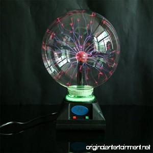 OOFAY LIGHT® Plasma Ball Light Magic Lighting Resin Craft Creative Crystal Glow 8 Inch Plastic With Music Lamp191925Cm - B07CPV1828