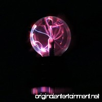Plasma Ball Light  Magic Plasma Ball Lamp Light  Touch Sensitive  USB or Battery Powered For Parties  Decorations  Kids  Bedroom  Home - B07F6YMYBQ