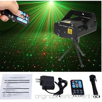 RONSHIN Black Starry Sky Stage Laser Light DJ Club Disco Projector with Remote Control Festival Decoration - B07FPSC5YJ
