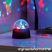 SODIAL Battery Operated Crystal Starball Mini Magic Ball Led Stage Lighting Effect RGB DJ Light Bar Party LED Disco Light Club - B07FSZPCGY