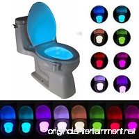 Toilet Light Toilet Bowl Light Motion Activated16-Color Change Bathroom Seat Light Lamp Led Toilet Lights Motion detection Automatic Sensor Light Activated in Darkness - B0792ZYPG6