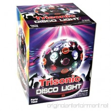 Trisonic Party Time Multi Color 360 Degree Rotating Mirror Disco Light 6 - B006CPA58O