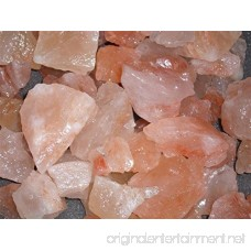 100% Authentic Pure Pink Himalayan Rock Salt Chunks Stone Box Food Grade (50 lbs) - B0735LW4WY
