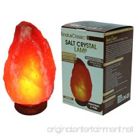 IndusClassic Natural Himalayan Crystal Rock Salt Lamp Ionizer Air Purifier 2~4 lbs / UL Listed Cord and Dimmer Control Switch  Exceptional Quality Packaging - B01LDMFEXQ