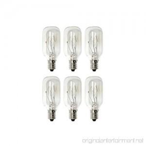 IQ Salt Lamp Bulb 25 Watt Bulb (6 pack) - B07CRFLQ2R