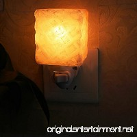 Litake 15W Salt Lamp Himalayan Glow Hand Natural Crystal Salt Lamp Night Light Wireless Bulb Replaceable - B073TZBVMW