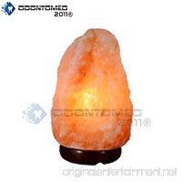 OdontoMed2011 NATURAL HIMALAYAN ROCK SALT LAMP 2-3KG IDEAL NIGHT LIGHT - LEAD AND BULB - B01KO9I292