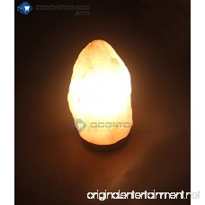 OdontoMed2011 NATURAL HIMALAYAN ROCK SALT LAMP 2-6 LBS IDEAL NIGHT LIGHT - LEAD AND BULB - B06XY7MPR6