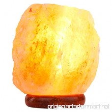 Small Natural Salt Lamp with Dimmer Switch by Salt Lamp Imports - B073ZHQCYC