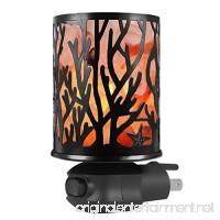 Syntus Himalayan Salt Lamp Natural Pink Salt Rock Lamps Metal Basket Lamp Glow Hand Carved Night Lights Wall Light with Sculptured Iron Basket  2 Bulbs for Lightin  Branch - B074QMC5CD