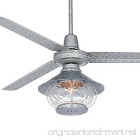 "60"" Turbina Tropical Lantern Galvanized Ceiling Fan - B01N11WLS9"