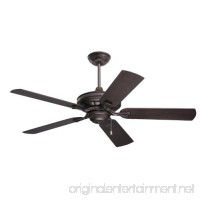 Emerson Ceiling Fans CF552ORB Veranda 52-Inch Indoor Outdoor Ceiling Fan  Wet Rated  Light Kit Adaptable  Oil Rubbed Bronze Finish - B003TASMEO