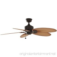 Hampton Bay Lillycrest 52 Indoor/Outdoor Aged Bronze Ceiling Fan - Model # 32711 - B01N7M1U9W