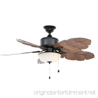 Home Decorators Collection 51422 Palm Cove 52 in. Natural Iron Ceiling Fan - B076W18BKJ